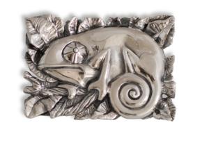 camaléon plata