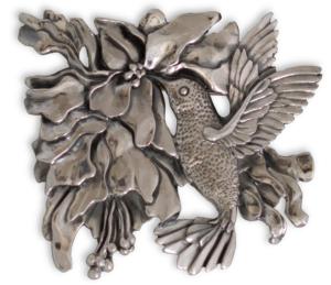 colibrí plata
