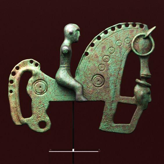 fibula - caballo celtíberico