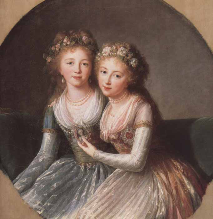 Pintado por Élisabeth Vigée-Lebrun