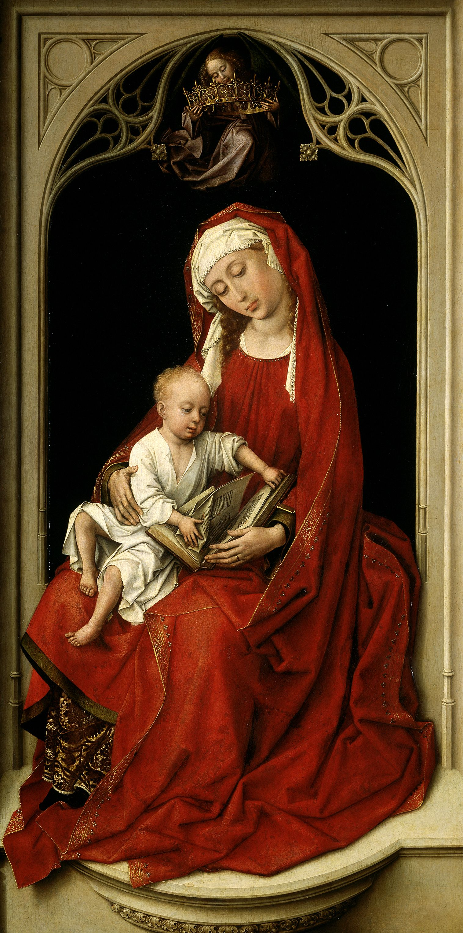La Virgen con el Niño,