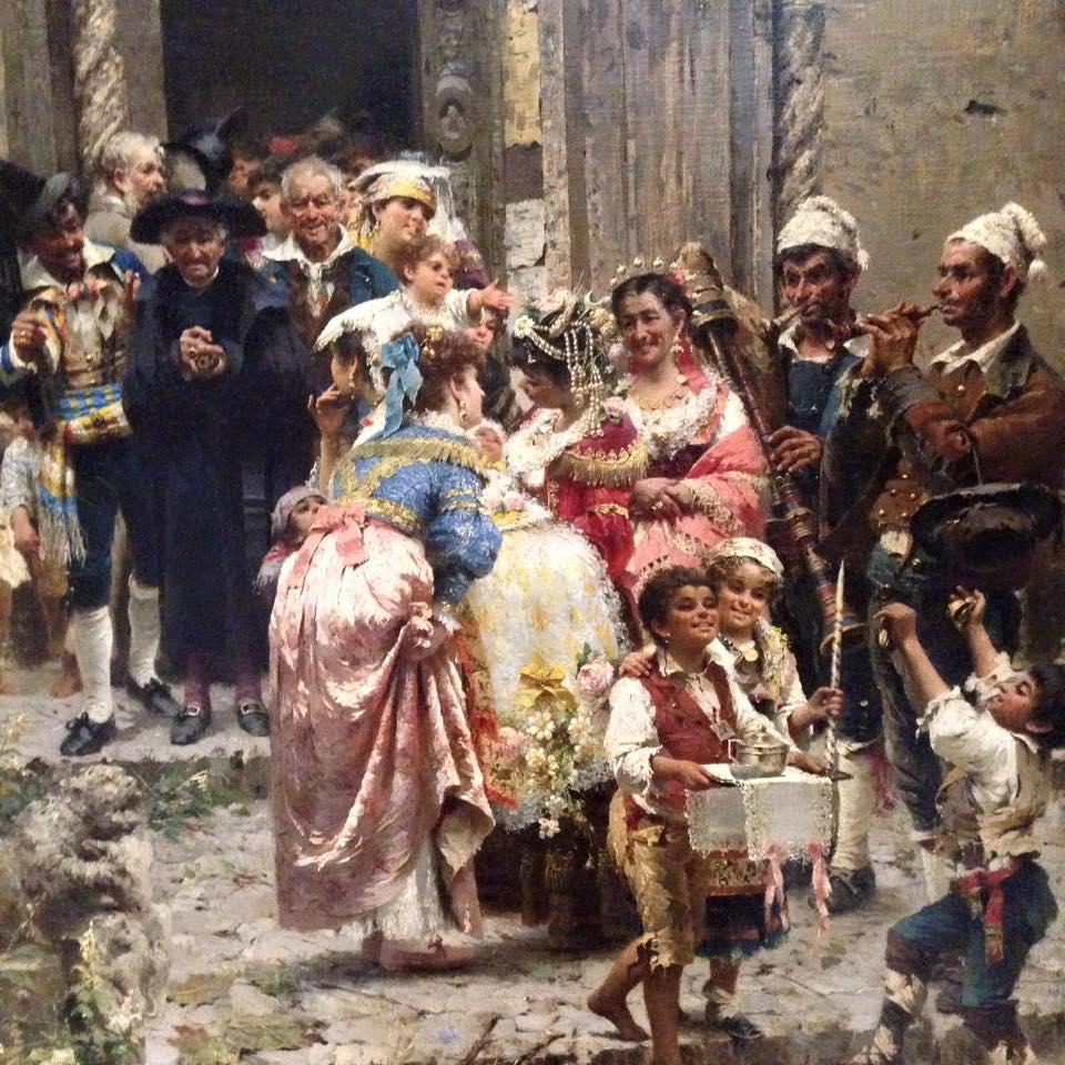 """""""El bautizo"""" (1882),"""