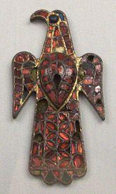 La Fíbula de Alovera, arte visigótico del siglo VI.